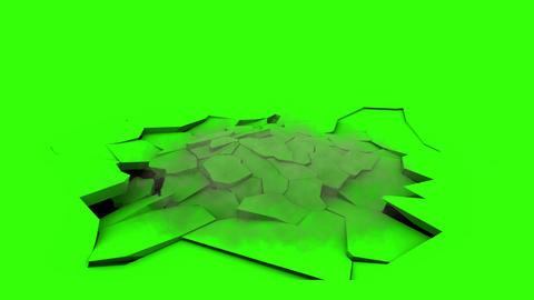 Ground Destruction V2 with Smoke Animation