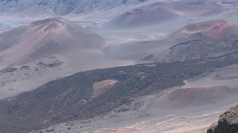 Maui haleakala volcano crater hawaii close pan left m hd stock video haleakala volcano crater close slow pan left m hd footage publicscrutiny Gallery