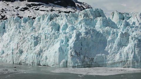 Margerie Glacier tidewater calving Glacier Bay pt 2 HD 1380 Footage