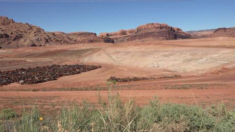 Moab Utah building radioactive uranium cleanup UMTRA 4K Live Action