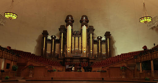 Mormon Tabernacle Missionary pipe organ DCI 4K Footage