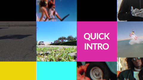 Quick Intro 2 Apple Motion Template