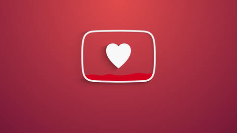 Valentines Day (Youtube Logo) Premiere Pro Template