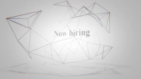 Now hiring-Twitchy Logo Animation