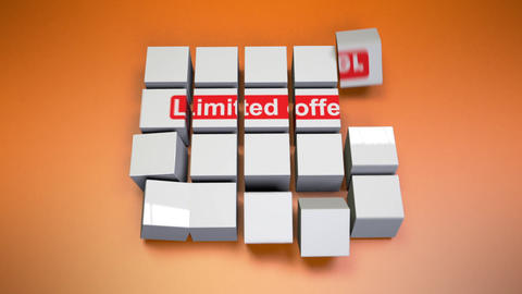 Limited offer-Cube Assembly Animation