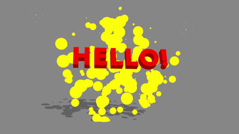 Hello-Toon Text Animation