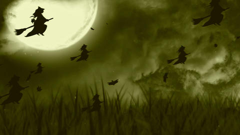 Halloween Background 3 Animation