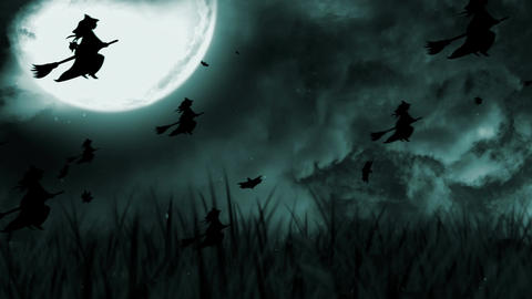 Halloween Background 5 Animation