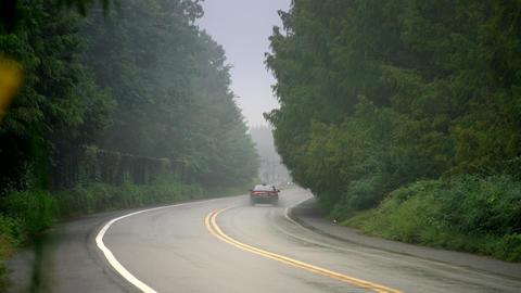 Damyang road taxi Footage