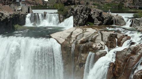Shoshone Falls Snake River Twin Falls Idaho fast timelapse HD 8133 Footage