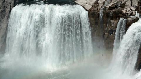 Shoshone Falls close Twin Falls Idaho HD 8162 Live Action