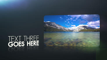 Dark Photo Video Texts Display 3D Screens Animation Gallery Slideshow Intro After Effects Template