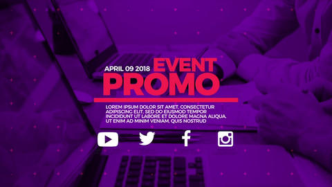 Business-event-promo ME After Effects Template