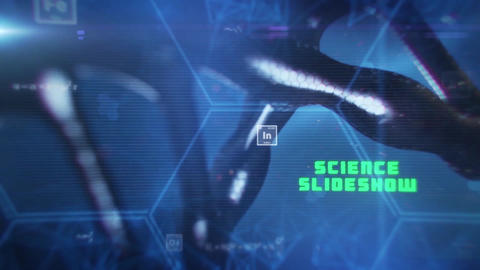 Science Slideshow After Effects Template