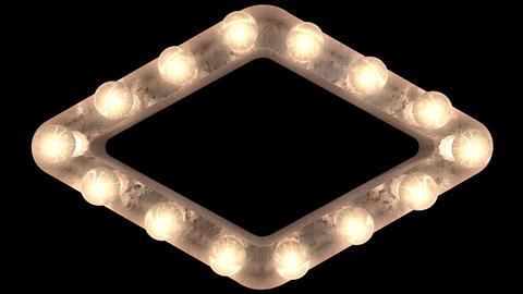 rusty steel blinking light bulb Frame r 2 Animation