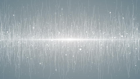 Particles white business clean bright glitter dust abstract background loop Animation