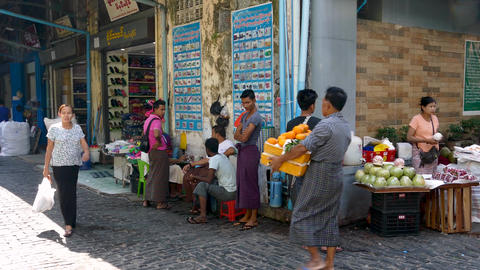 Bogyoke Aung San Market ext 8 Live影片