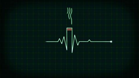 Stop smoking animation 4K Animation