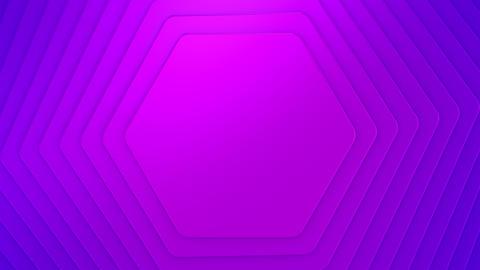 Background of Hexagons CG動画