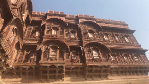 Jodhpur, India - majestic buildings of antiquity part 2 Live Action