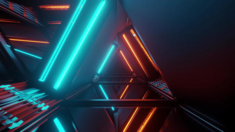 3d illustration motion background design artwork with abstract triangle shape Animation