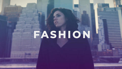 Urban Fashion Opener After Effects Template