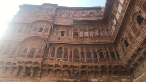 Jodhpur, India - majestic buildings of antiquity part 3 Live Action
