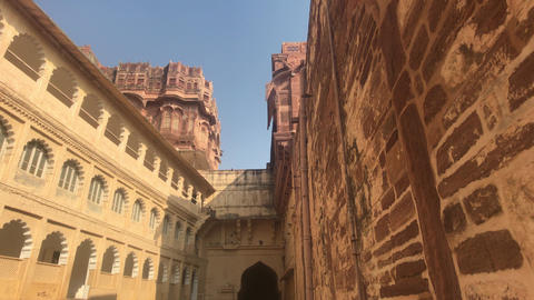 Jodhpur, India - majestic buildings of antiquity part 4 Live Action