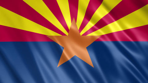 Arizona State Flag Animation