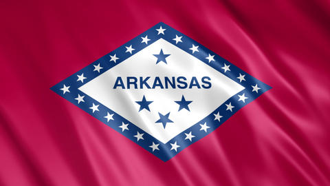 Arkansas State Flag Animation