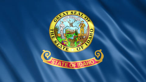 Idaho State Flag Animation