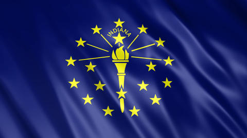 Indiana State Flag Animation