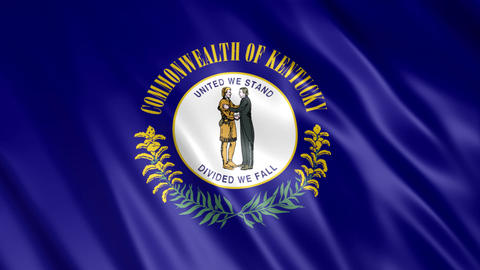Kentucky State Flag Animation