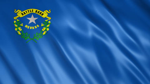 Nevada State Flag Animation