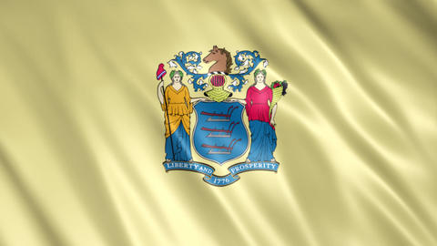 New Jersey State Flag Videos animados