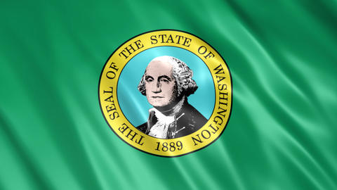 Washington State Flag Animation
