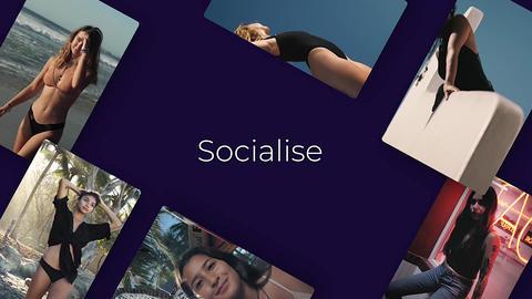 Socialise Apple Motionテンプレート