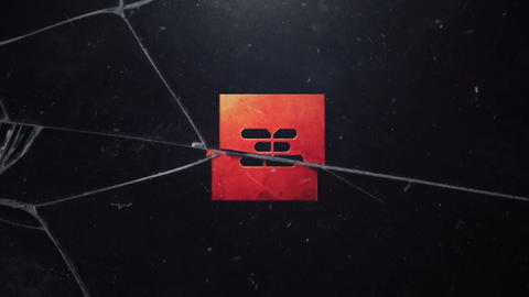 CRACKED GLASS LOGO INTRO After Effects Template