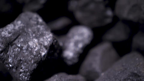 Close up of coal Live Action