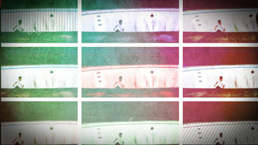 Colorful Glitch Opener After Effects Template