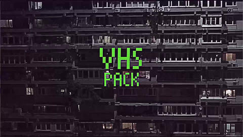 VHS Effects Pack Premiere Proテンプレート
