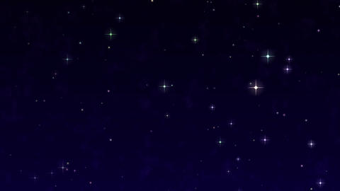 Starry Sky easy template: particular required After Effects Template