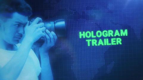 Hologram Trailer Premiere Pro Template