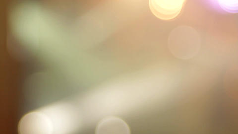 Bright And Colorful Concert Lights, Festival, Unfocused Shot, Bokeh Footage