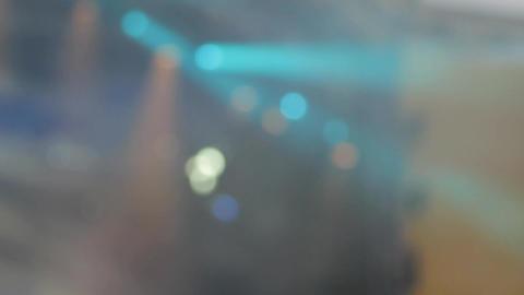 Concert Lights, Rack Focus, Tilt, Summer Rock Festival Footage