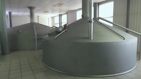 Cooling system in the interior of a modern factory Live Action