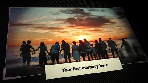 Memories Slideshow 2 Apple Motion Template