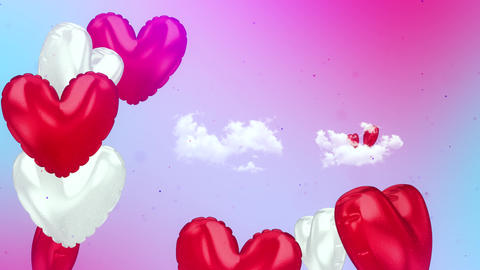 Happy Valentine's Day Background Animation