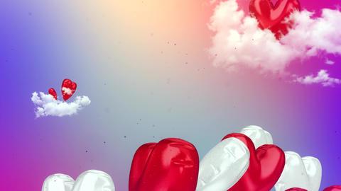 Happy Valentine's Day Background Animation