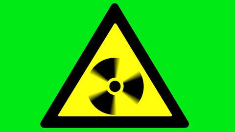 Caution radiation Animation